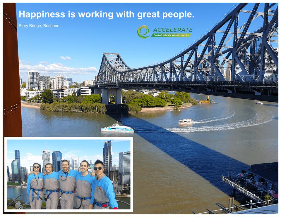 Accelerate Story Bridge Climb Team Building Company Growth